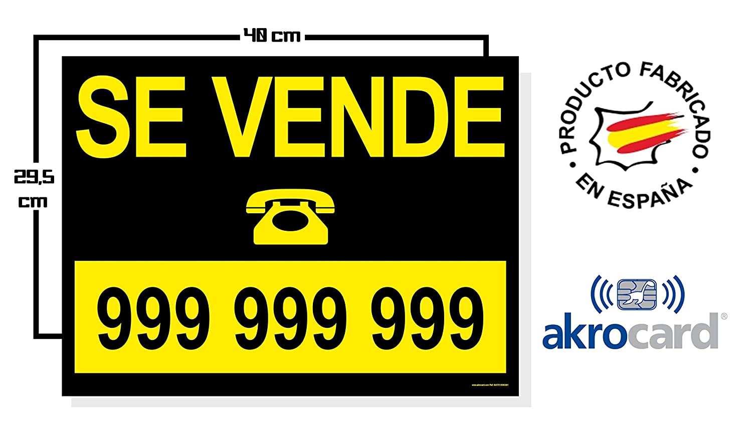 CARTEL PVC - PERSONALIZABLE - ideal para inmobliarias (SE ALQUILA)