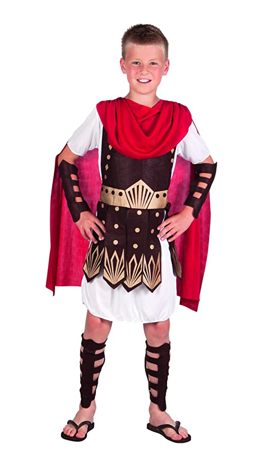 Boland 82128 - Disfraz de Gladiador Infantil, Blanco: Amazon ...