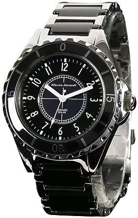 bd64d71bd8 [マウロジェラルディ]Mauro Jerardi 腕時計 ソーラー セラミック MJ041-1 メンズ