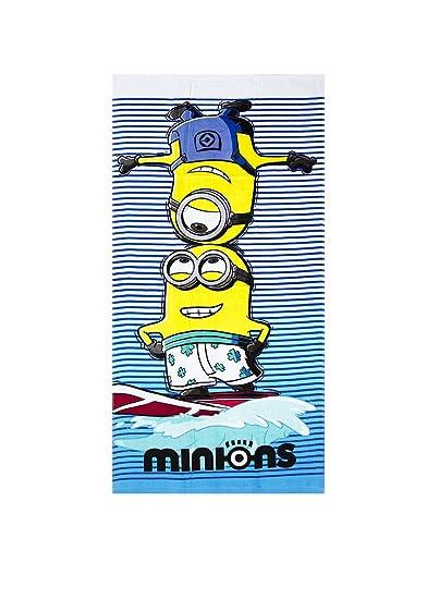 Toalla de baño toalla de playa Minions Surf Edition 2016: Amazon.es: Hogar