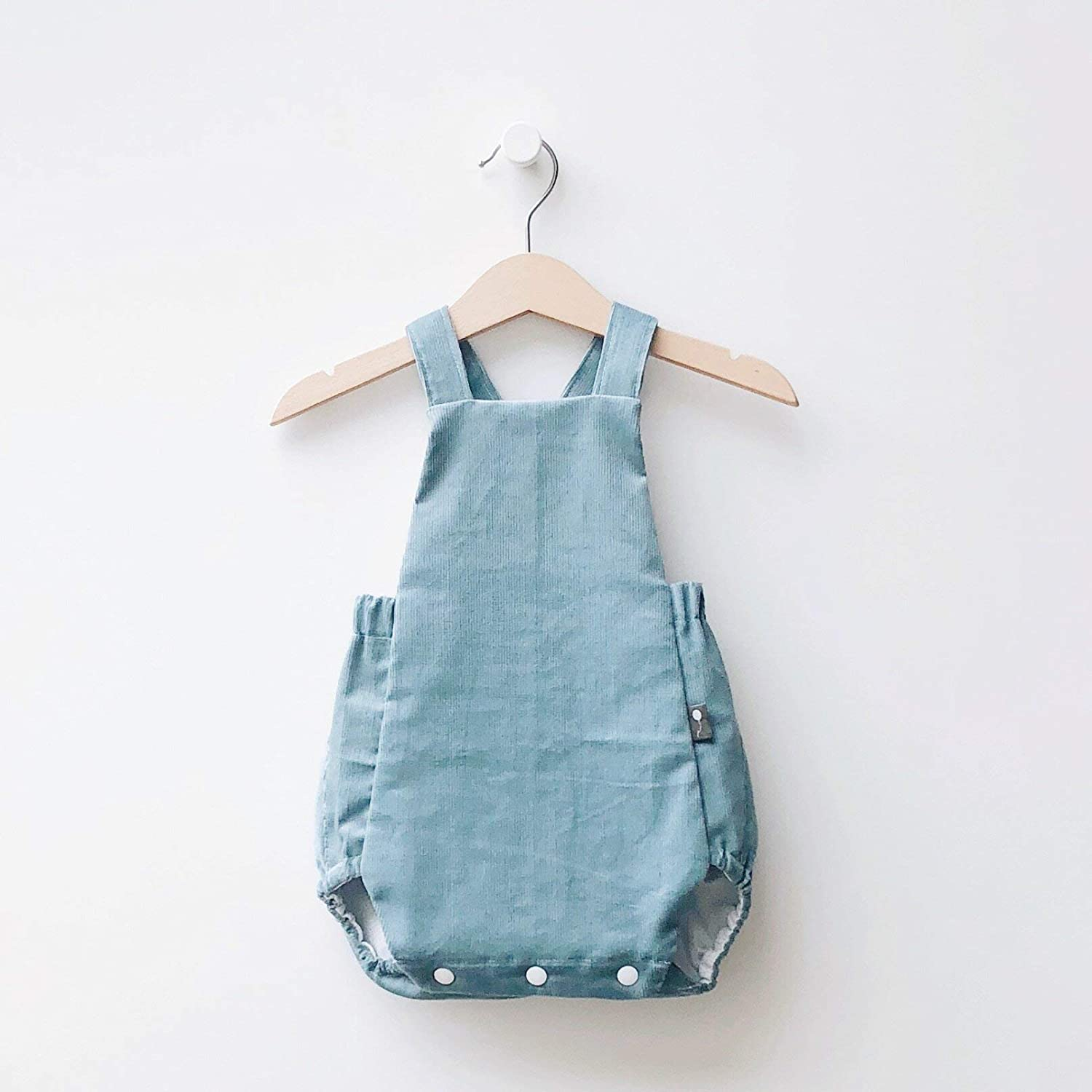 db91150b8e60 Amazon.com  Baby Classic Bubble Romper Wine Red Corduroy - Reversible from  0m to 24m  Handmade