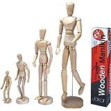 """Artistes en bois Mannequin Mannequin mobile réglable Membres humains cm """"4tailles"""