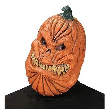 Máscara de calabaza de halloween careta terrorífica