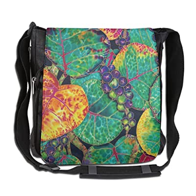 Amazing Sea Grapes Fashion Print Diagonal Single Shoulder Bag