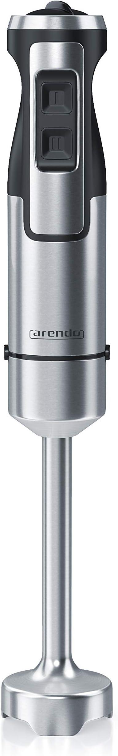 arendo - Batidora de Mano de 1000 vatios de Acero Inoxidable ...