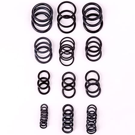 250Pc Assorted Kinzo O-Rings | Valve Rubber Air Seal Tap/Pipe ...