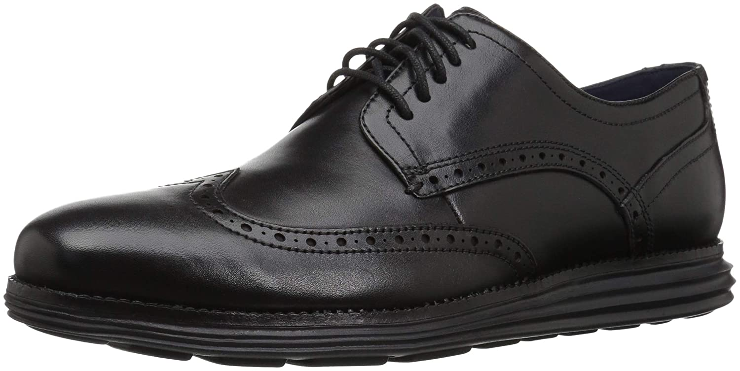 TALLA 42.5 EU. COZ7W|#Cole Haan Original Grand Wingtip Oxford, Zapatos de Cordones Hombre