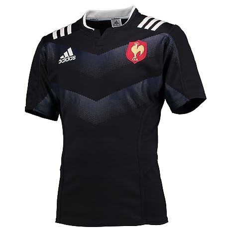 Adidas FFR Prematch JS Camiseta, Hombre, Azul (Ngazul/Blanco), XS