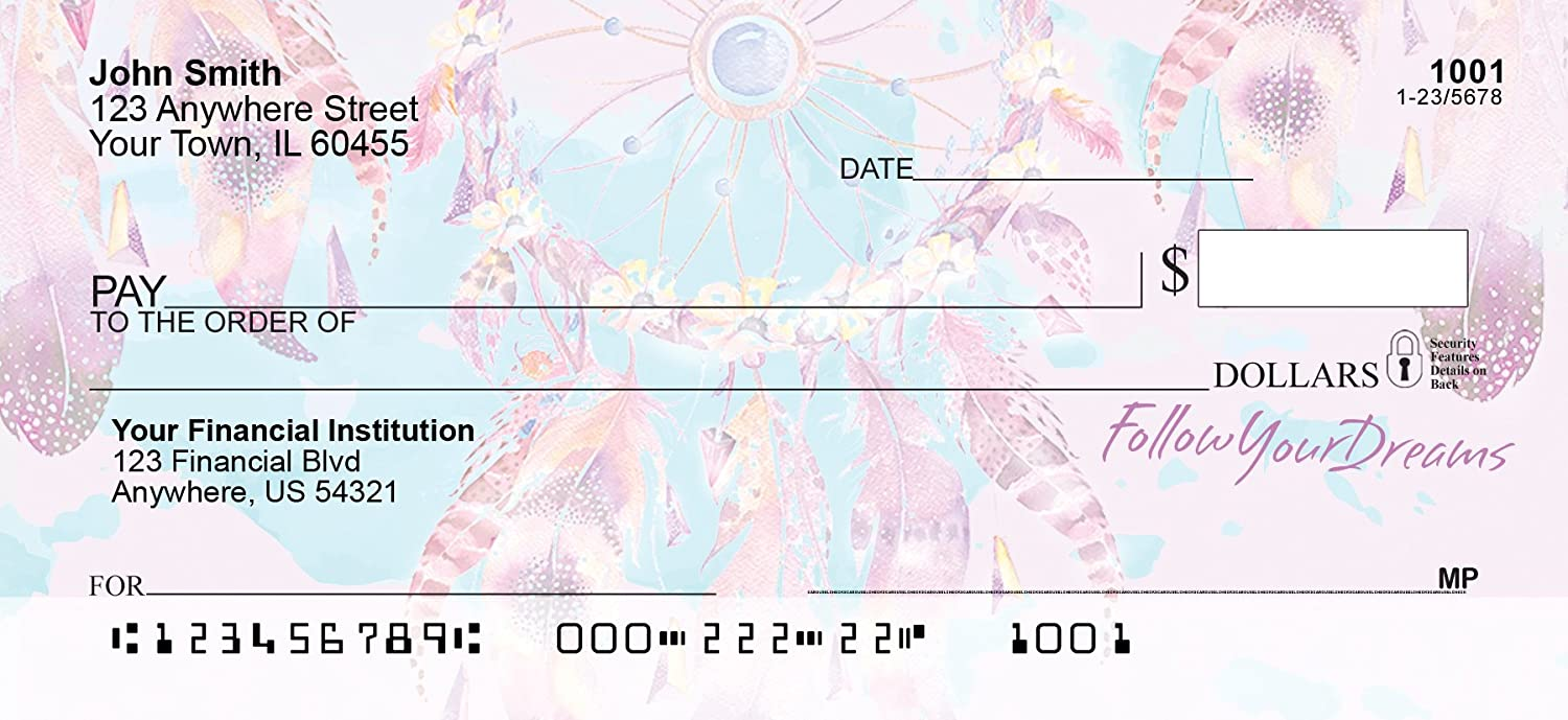 Dream Catchers Personal Checks (1 Box Duplicates) Carousel Checks Inc.