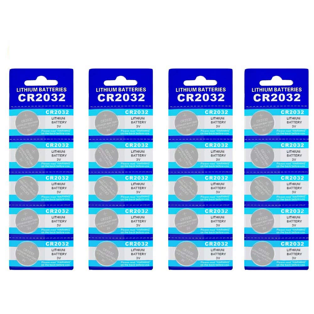 Easy Purchase 100pcs Cr2032 Lithium Li Ion 3v Button Cr2332 Coin Cell Battery Batteries For Electronic Br2032 Dl2032 Sb T15 Ea2032c Ecr2032 L2032 Home Audio Theater