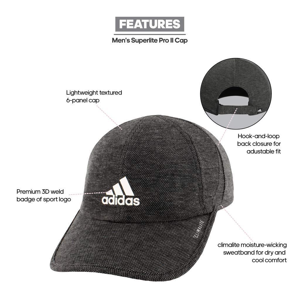1e479e02e59b0 Amazon.com  adidas outdoor Superlite Pro II Cap - Men s Black White ...