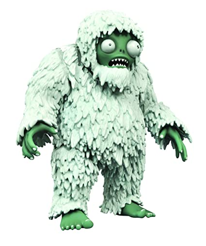 DIAMOND SELECT TOYS Plants Vs. Zombies Garden Warfare Select: Deluxe Yeti Action Figure