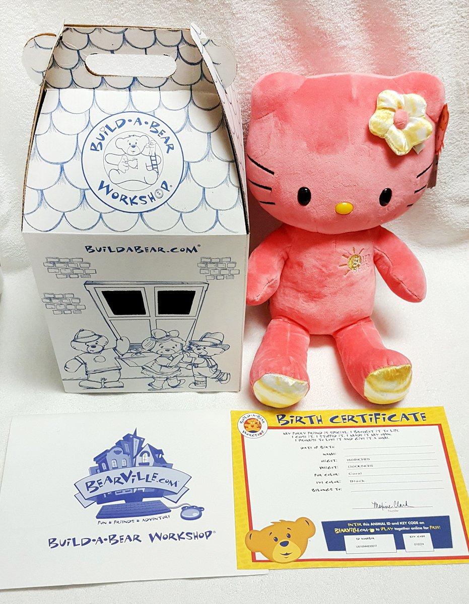 Amazon Build A Bear Workshop 18 In Sunshine Hello Kittyreg