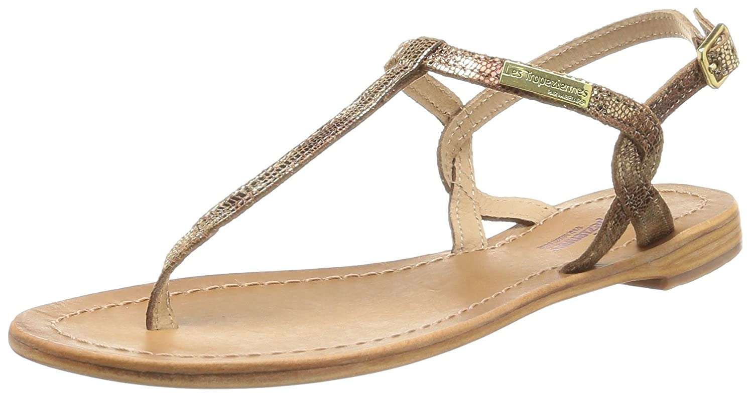 Les Tropeacute;ziennes par M. Belarbi Billy, Damen Sandalen  40 EU|Gold (Or)