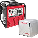 The Mower Shop EB2800i Honda Generator with Honda OFI Cover Combo