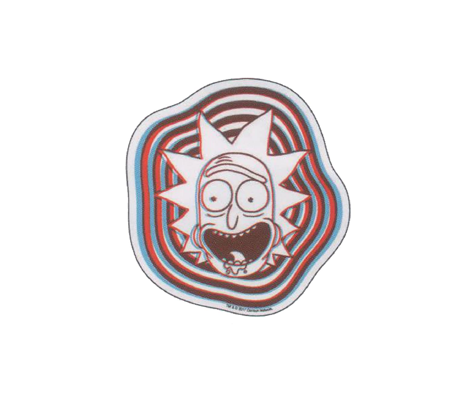 Amazon Rick 3d Face R M Officially Licensed Original