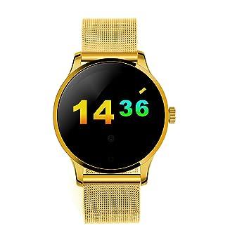 GAOXP Admite Monitorización de la frecuencia Cardíaca de Doble Sistema Relojes Inteligentes inteligentesGAOXP (Color : 3): Amazon.es: Deportes y aire libre