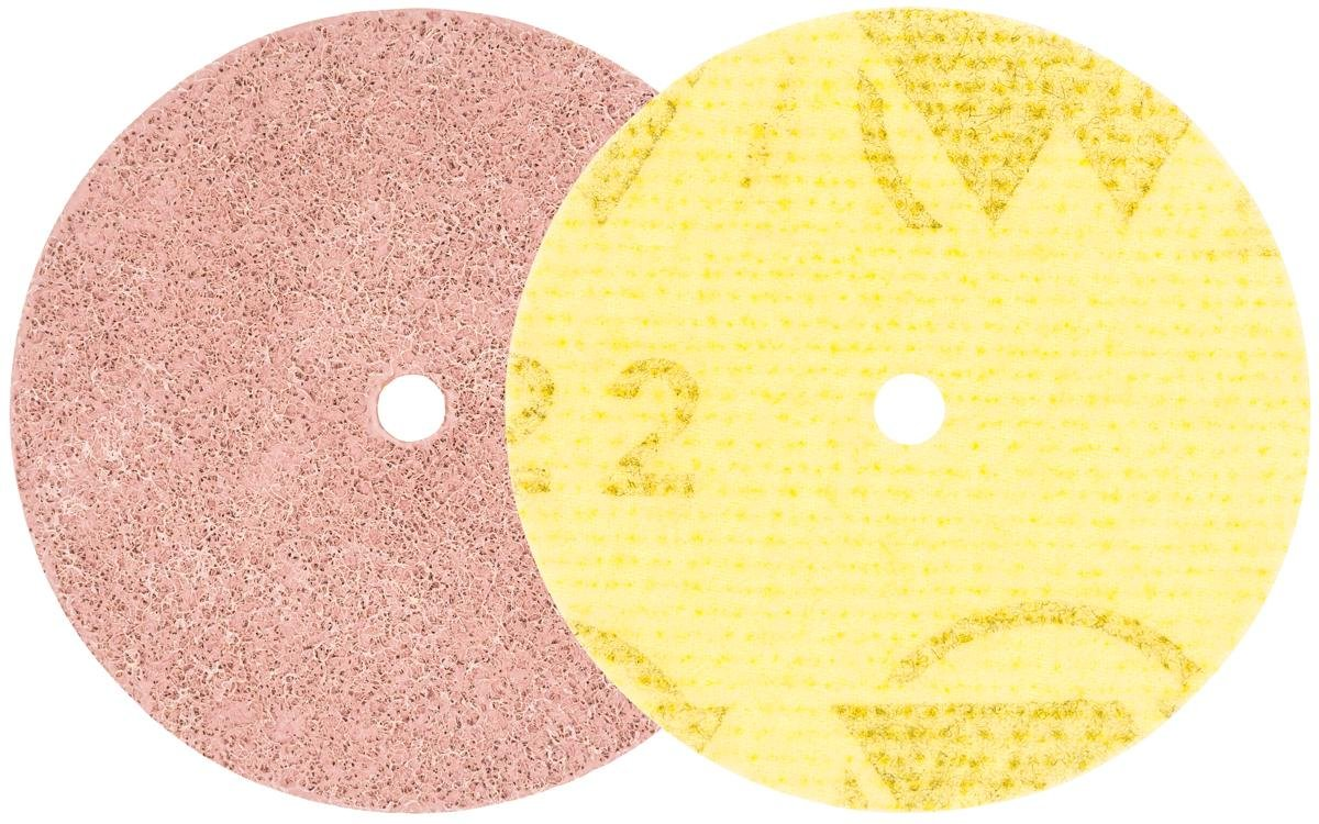 Walter Surface Technologies 07T456 Quick-Step Instant Polish Disc, 4-1/2'' Diameter (Pack of 10) by Walter Surface Technologies (Image #1)
