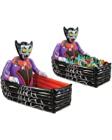 Beistle Inflatable Vampire and Coffin Cooler, 3-Feet 6-Inch Width by 30-Inch Height
