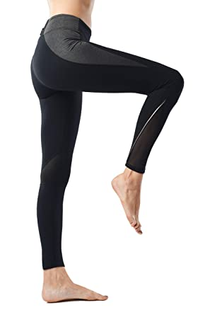 22c2661535810d AllureSports Leggings Workout Exercise Tights Running Cycling Leggings Yoga  Pants for Women Power Stretch Gym Clothes Leggings with Hidden Pocket  Slimming ...