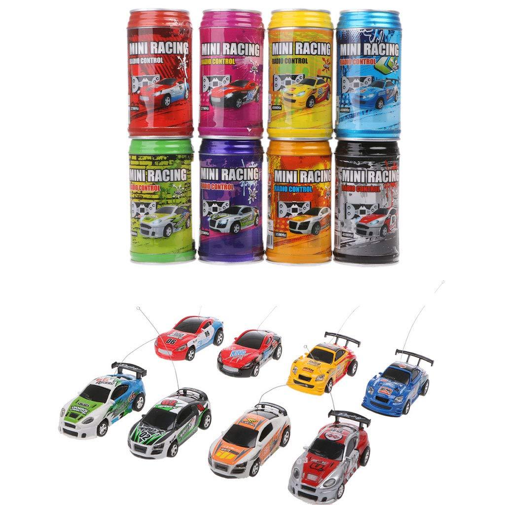 Vivianu New Coke Can Recharged Mini Speed RC Radio Remote Control Micro Racing Car Toy Gift Kids Boy Toys