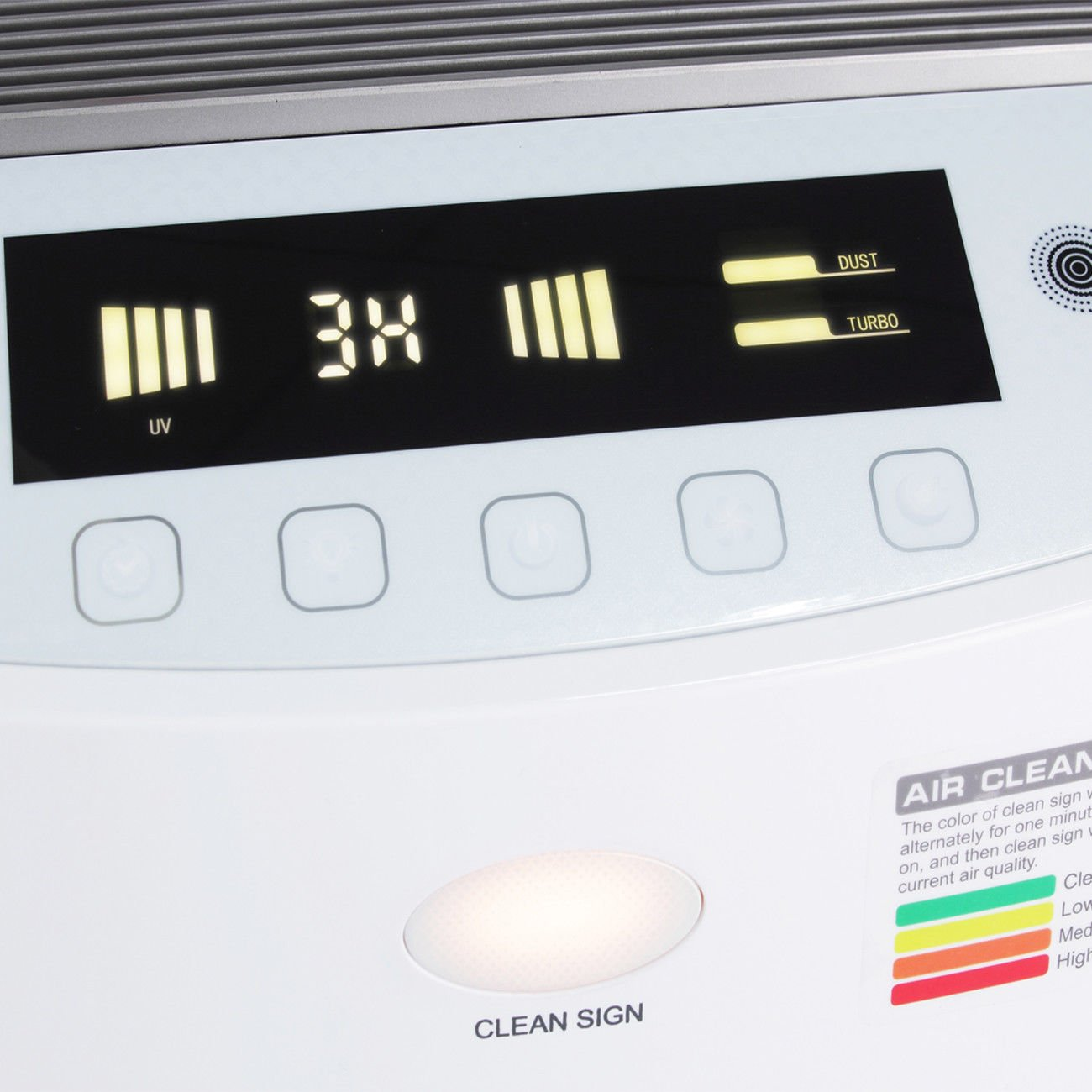 White Air Purifier With Ebook