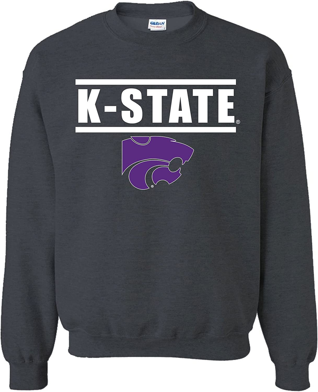NCAA Arizona Wildcats Adult NCAA Bars Logo Crewneck Sweatshirt
