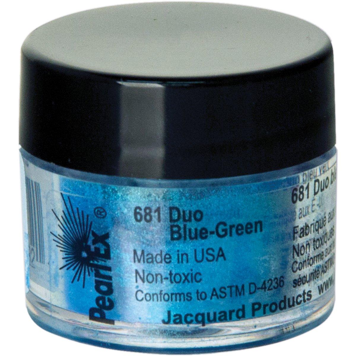Pigmento Jacquard Pearl Ex 3gr. Duo Azul Verde