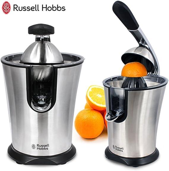 Russell Hobbs Exprimidor de naranjas automático Plata: Amazon.es ...