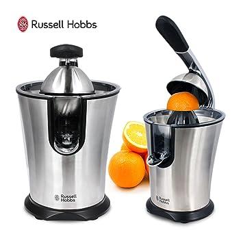 Russell Hobbs Exprimidor de naranjas automático Plata