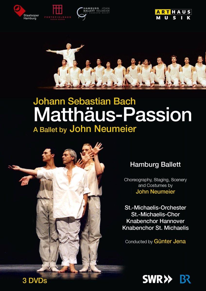 J S Bach Matthaus Passion Ein Ballett Von John Neumeier Dvd