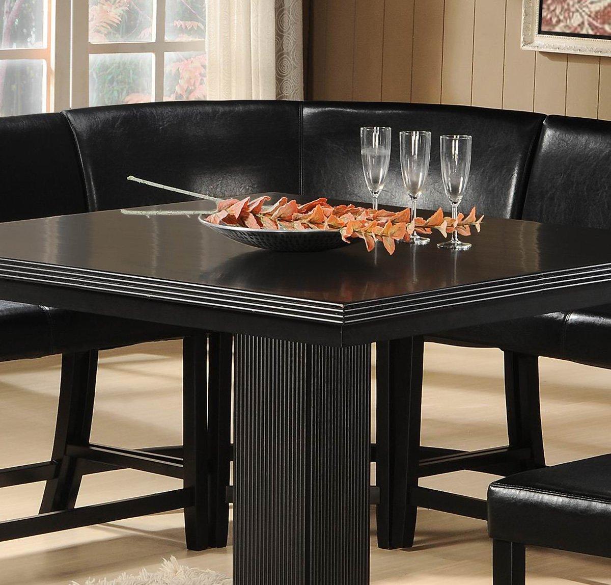 Charmant Homelegance Papario Vinyl Corner Counter Height Chair In Black [Set Of 2]:  Amazon.ca: Home U0026 Kitchen