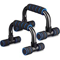Xahpower Steel Push Up Bars - Strength Training Stands with Steel Grip Bar,Cushioned Foam Grip and Non-Slip Sturdy…