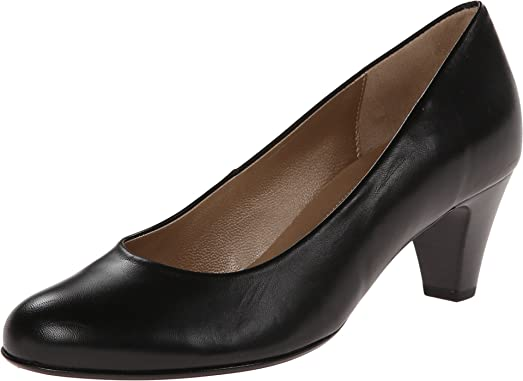 Women's Gabor 0.5200 Schwarz Kid Pump UK 5 (US Women's 7.5) B (M)
