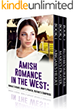Amish Romance in the West: Abigail's Heart, Mary's Prayer, Ruthie's Surprise: Amish Romance in the West Books 1, 2 and 3