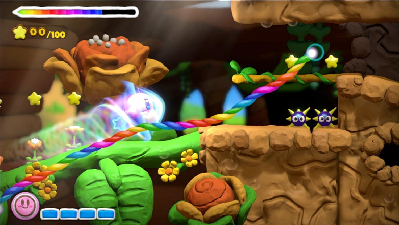 Nintendo Kirby and the Rainbow Curse - Juego (Wii U, Acción ...