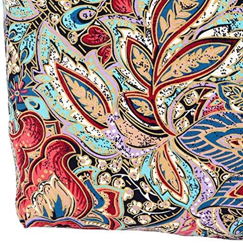 Chang Spent bolso de la impresión del viento nacional de lona del hombro del mensajero del bolso personalizado de forma bola de masa de las mujeres , red Red