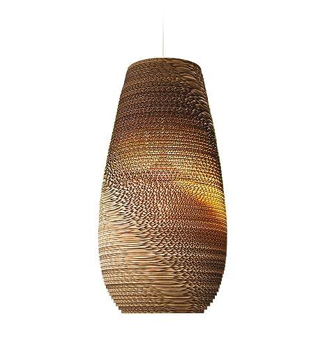 Graypants GP-211 - Lámpara de techo (45,7 cm, cartón ...