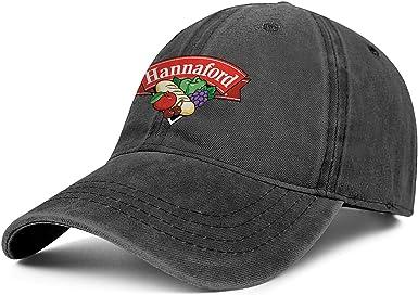 HOTMN Hannaford Supermarket Unisex Casual Cotton Washed Trucker Fitted Sport Cap
