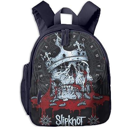 Rock Slipknot The Gray Chapter Mochila Infantil Con Diseño