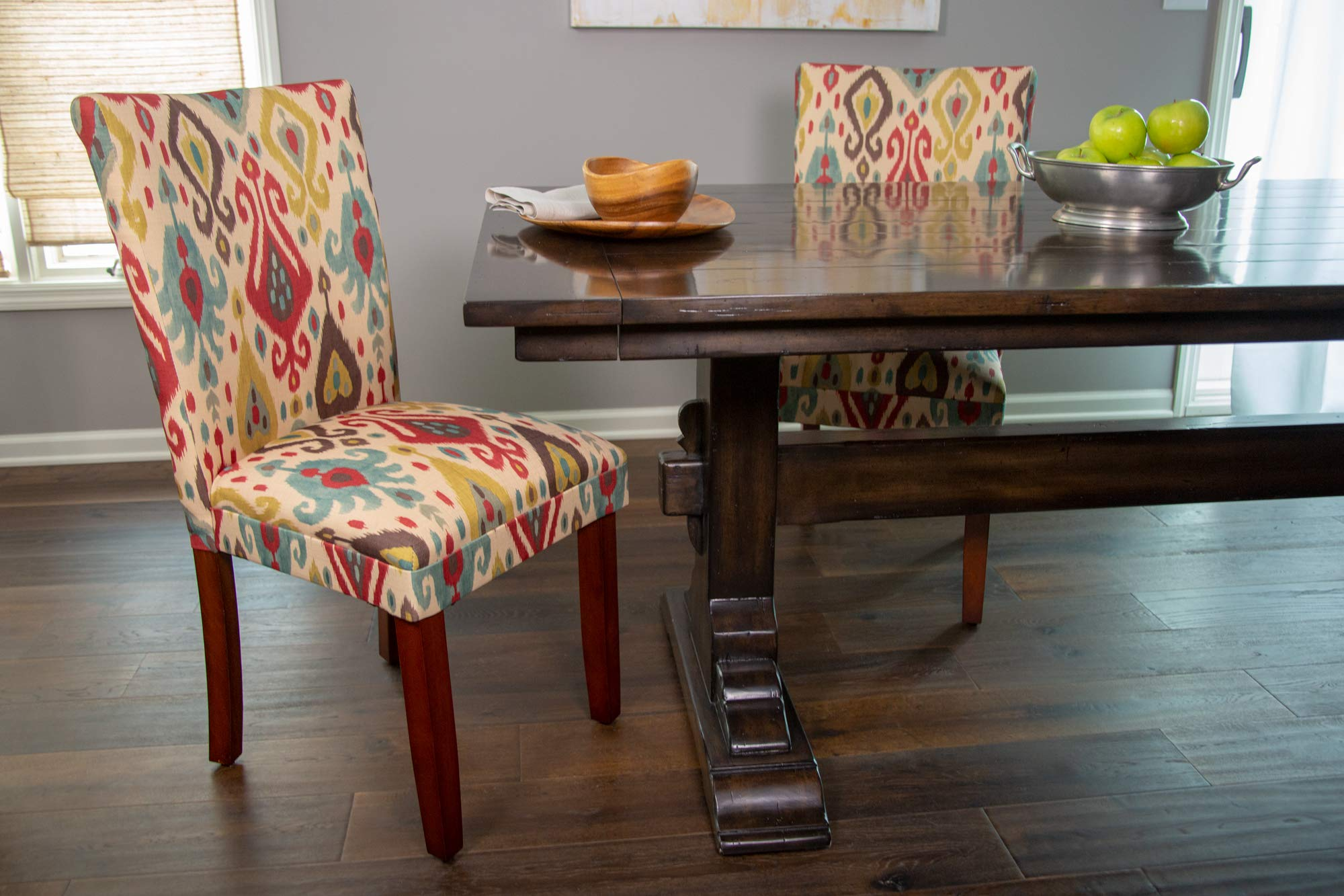 HomePop Parsons Upholstered Accent Dining Chair, Set of 2, Sienna by HomePop (Image #4)