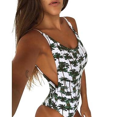14784a6f0f9 Women Swimsuit Teen Girls One Piece Pineapple Printed Bikini Monokini  Padded Swimwear Bathing Suit On Sale