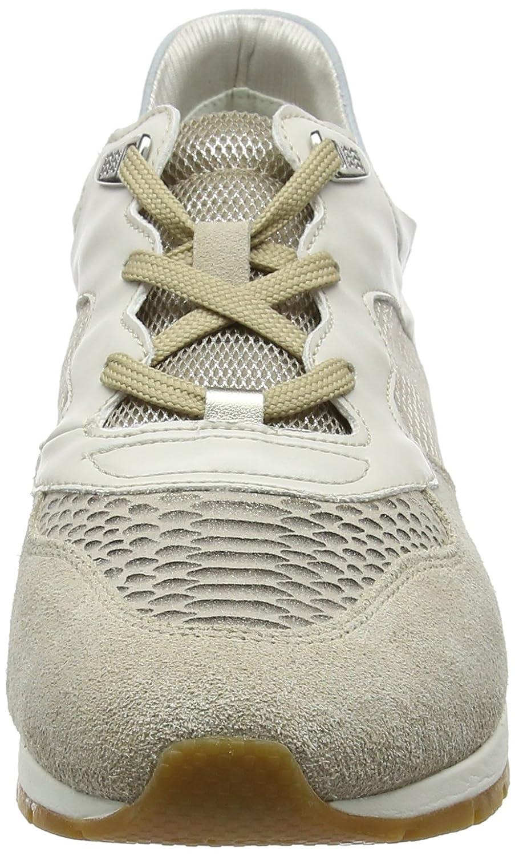 Geox Damen D Shahira B Sneaker Beige Beige Beige (Lt Taupe/Lt Gold) af7618