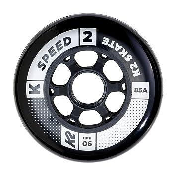 K2 Juego de Ruedas (90 mm Speed Wheel de 4 Pack, Multicolor, One Size, 30b3005.1.1.1siz: Amazon.es: Deportes y aire libre