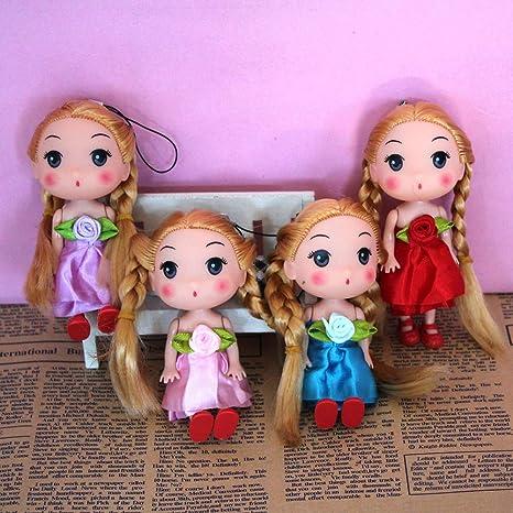 faironly muñecas 12 cm Doble Trenzado Lazo Colgante Llavero ...