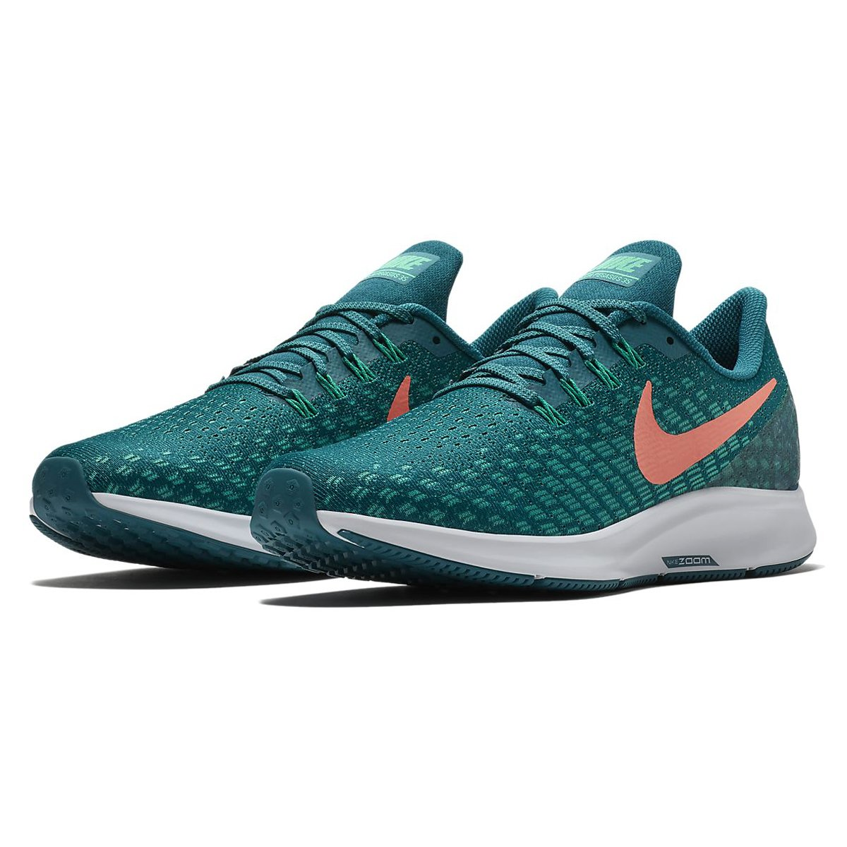 factory authentic 03a8d 84833 Galleon - NIKE Men s Air Zoom Pegasus 35 Running Shoes (12, Teal Orange)