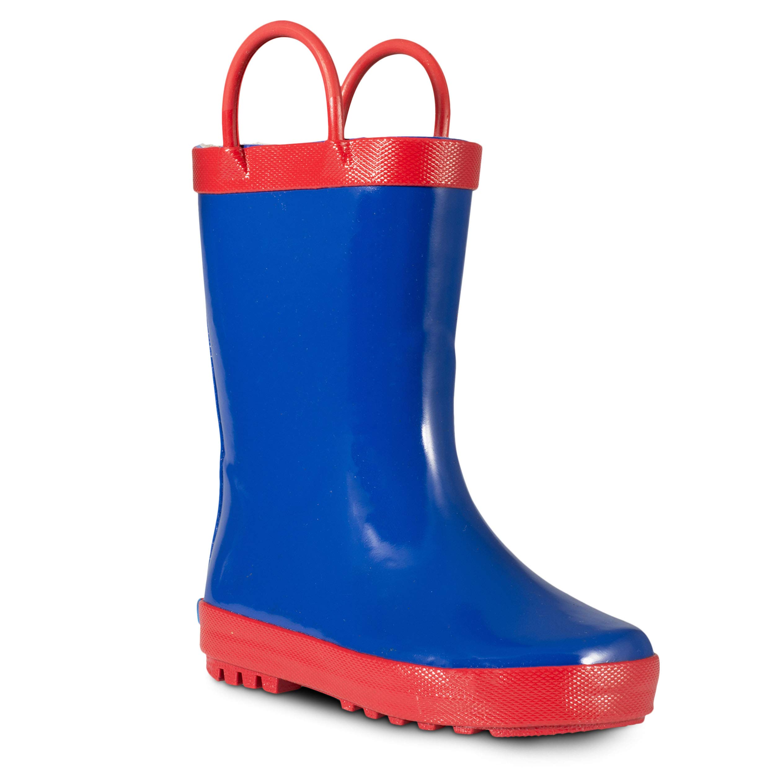 ZOOGS Children's Rubber Rain Boots for Little Kids & Toddlers, Boys & Girls