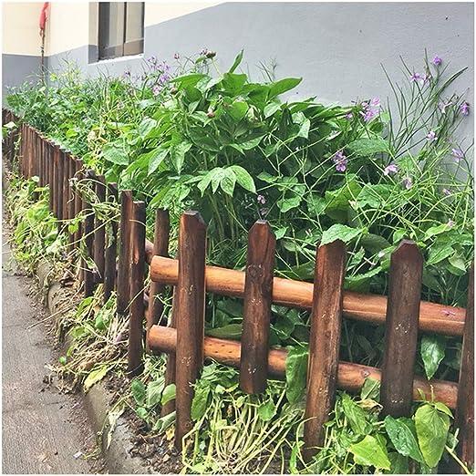 ZHANWEI Valla de jardín Bordura de jardín De Madera De Pie Plantas Vegetales Barandilla Césped Patio, Una Variedad De Estilos (Size : 122x110cm): Amazon.es: Jardín