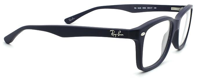 0071551957 Amazon.com  Ray-Ban RX5228 Woman Square Eyeglasses (Sand Blue Frame ...