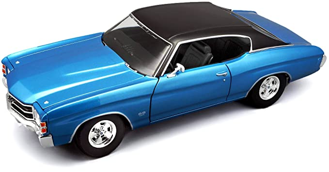 Maisto 1:18 Scale 1971 Chevy Chevelle SS 454 Coupe Diecast Vehicle (Colors  May Vary)